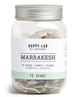 "Té verde ""Marrakesh"" en pirámides de Happy-lab"