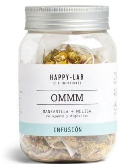 "Infusión ""OMMM"" en pirámides de Happy-lab"